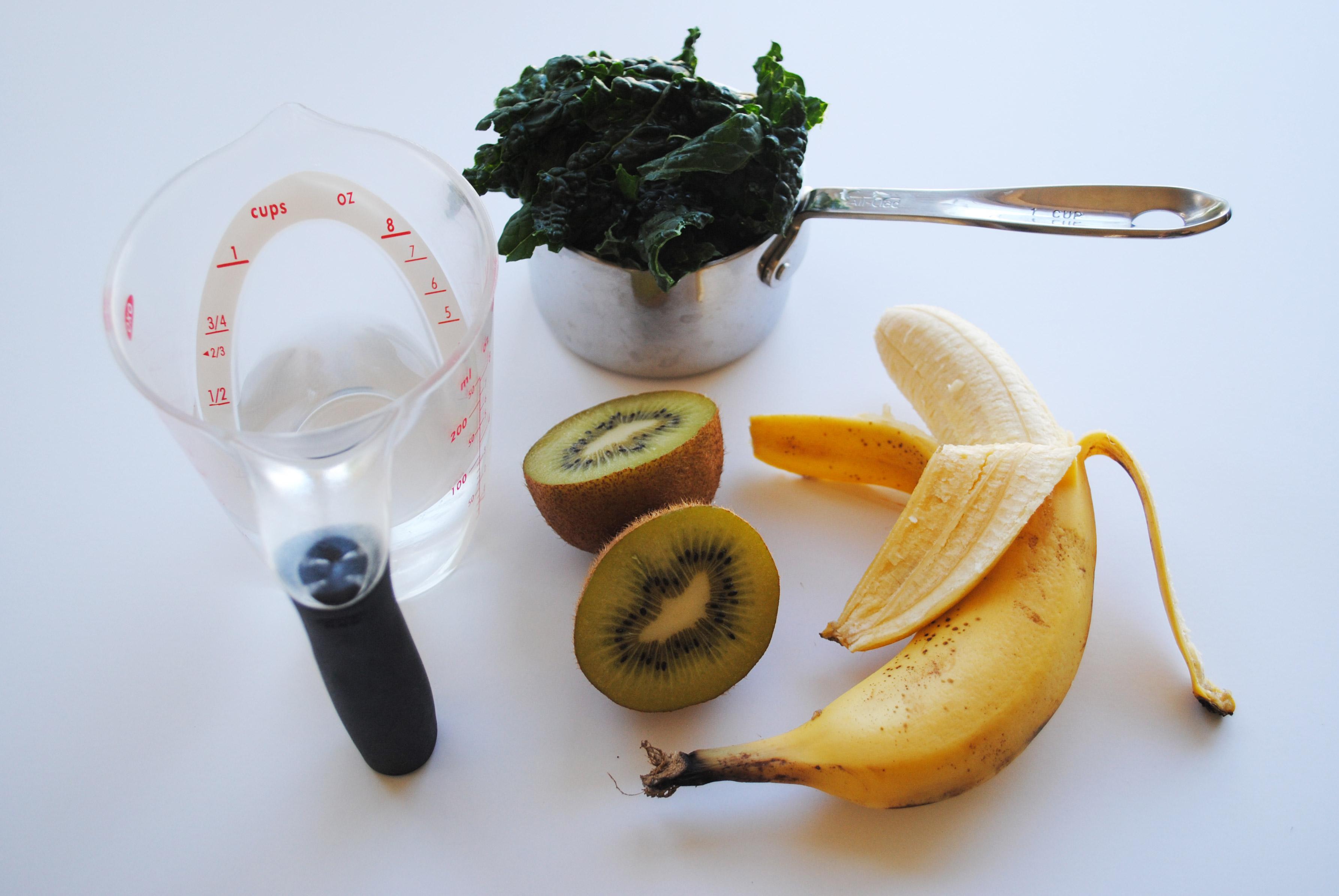 Kale Super-Start Smoothie Ingredients